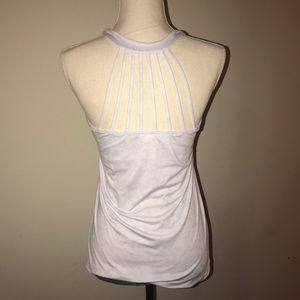 Kyodan white and silver athletic top